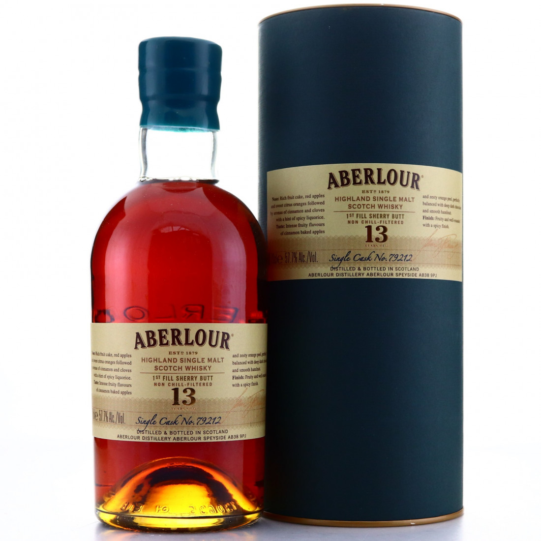 Aberlour 13 Year Old Single Sherry Cask #79212