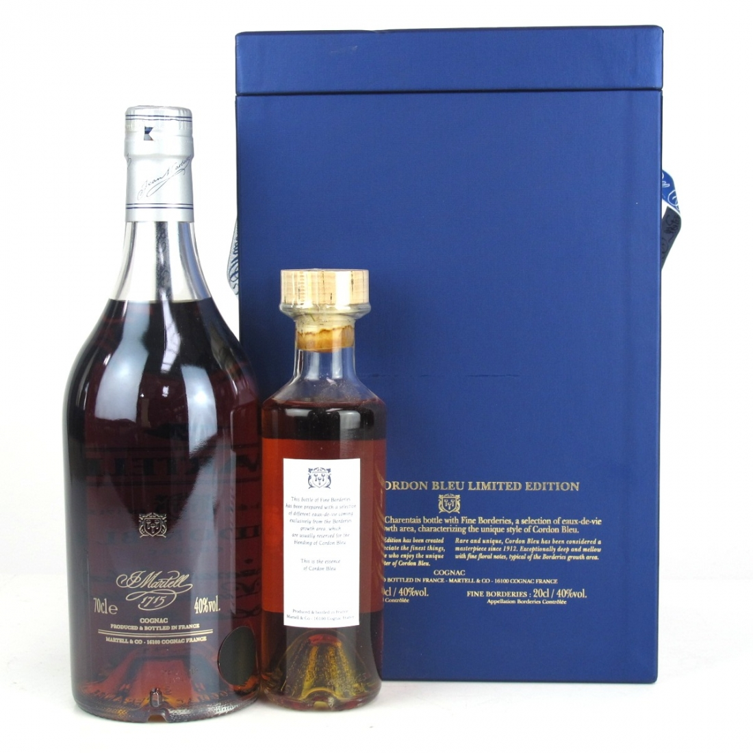 Martell Cordon Bleu Cognac Limited Edition / Including 20cl