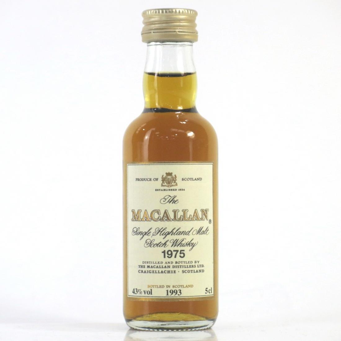 Macallan 18 Year Old 1975 Miniature 5cl