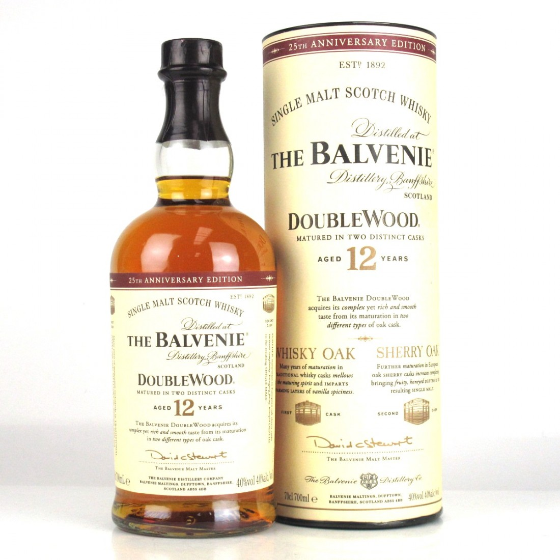 Balvenie 12 Year Old Double Wood / 25th Anniversary Edition