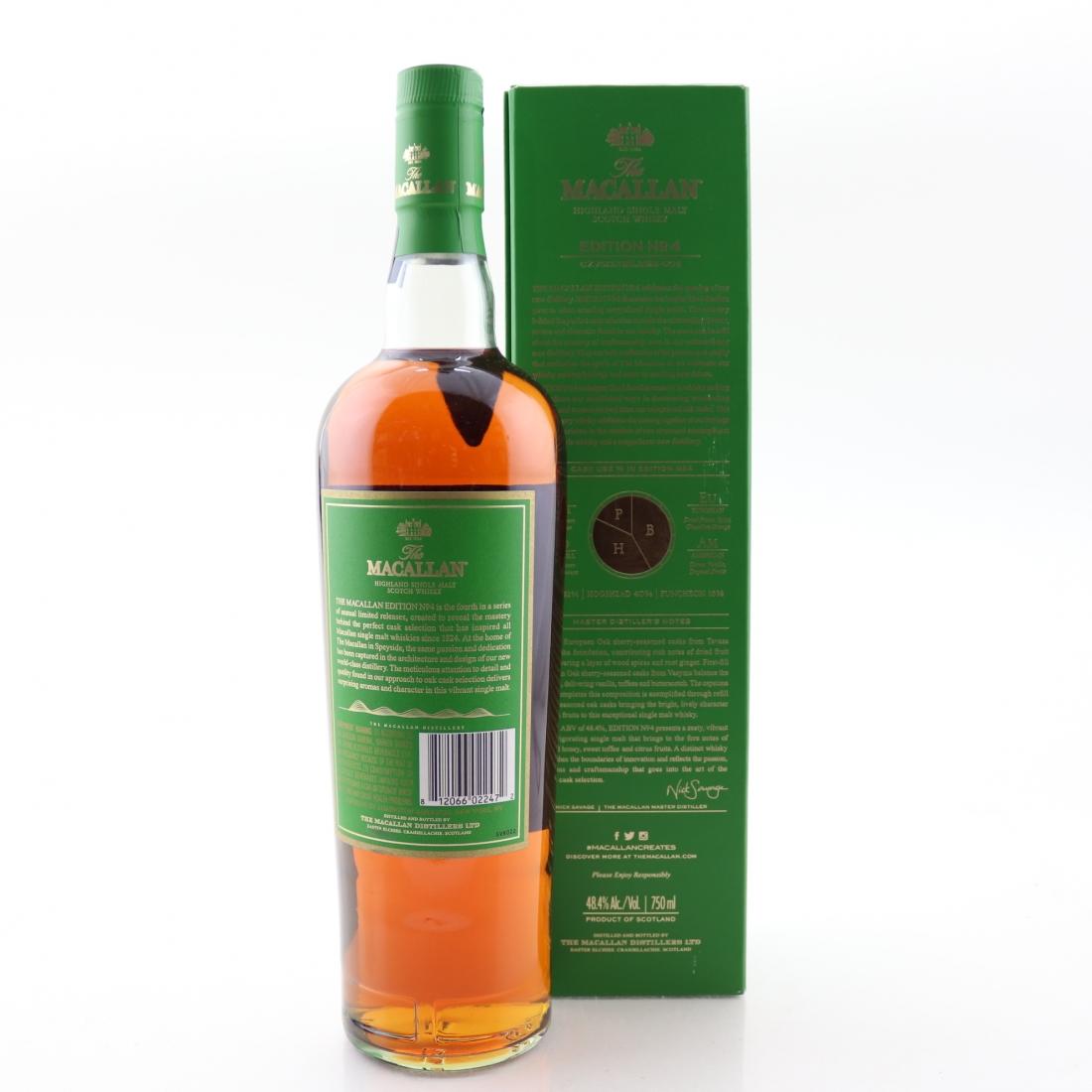 Macallan Edition No.4 75cl / US Import