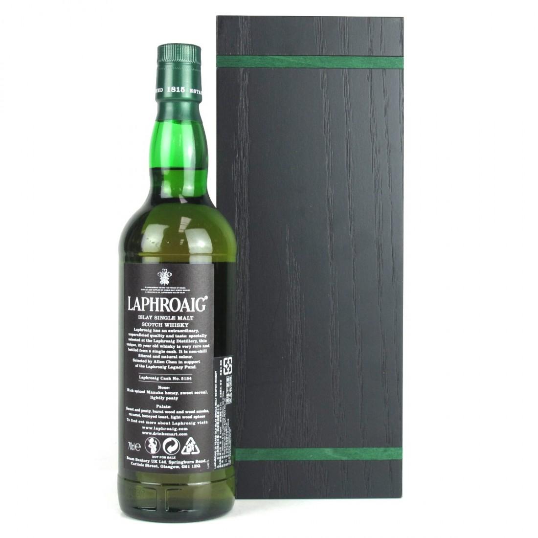 Laphroaig 25 Year Old Single Cask / Aqua Vitae Whisky Selection