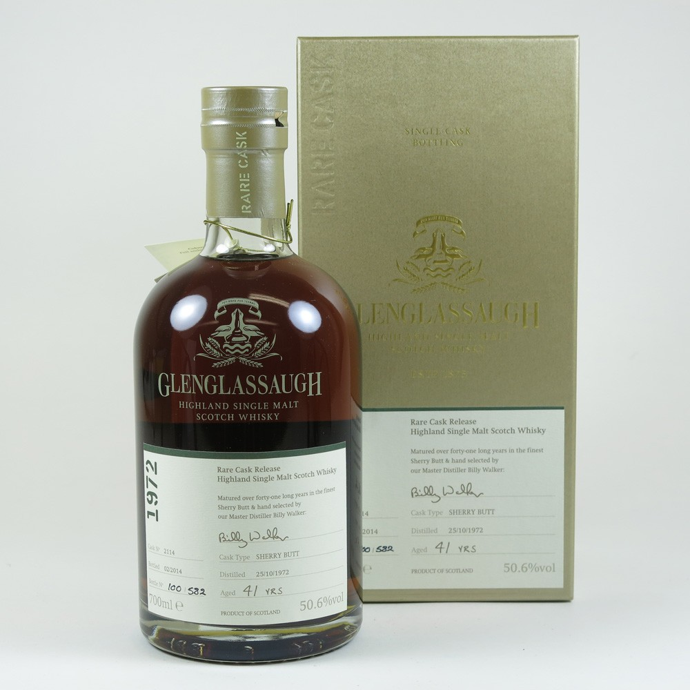 Glenglassaugh 1972 Single Cask 41 Year Old front