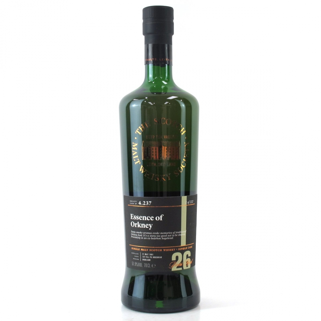 Highland Park 1991 SMWS 26 Year Old 4.237