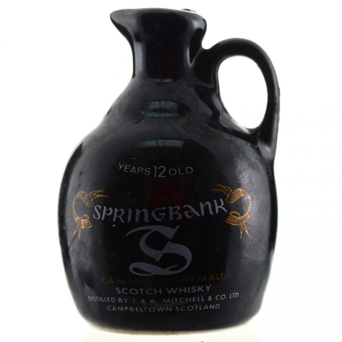 Springbank 12 Year Old Miniature Decanter