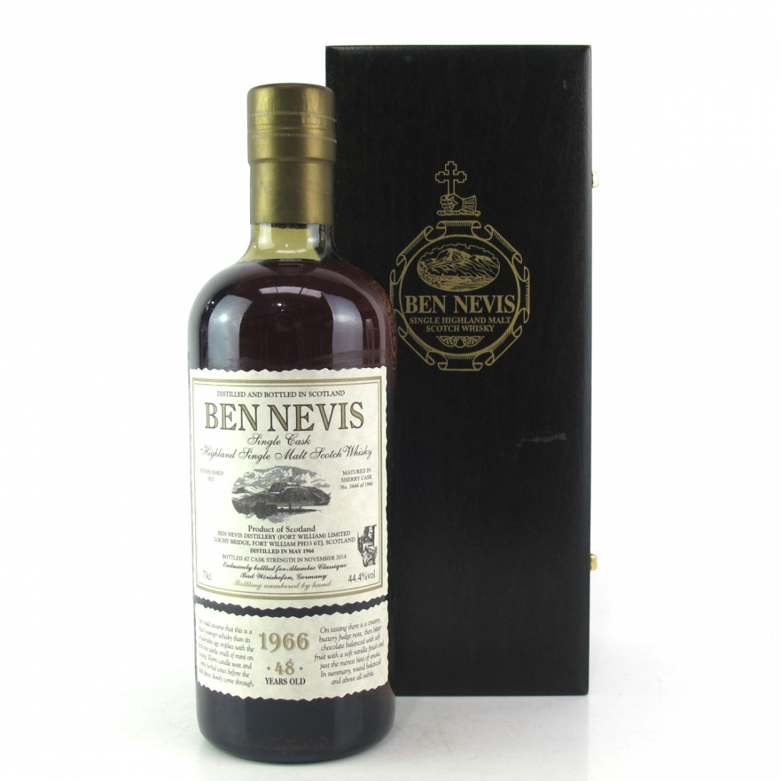 Ben Nevis 1966 Single Cask 48 Year Old #3644 / Alambic Classique