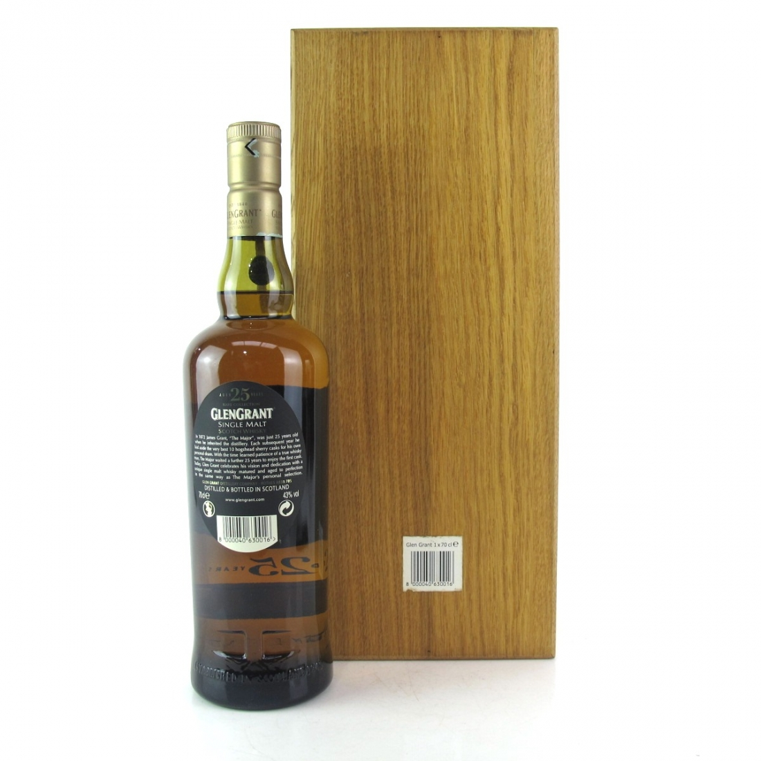 Glen Grant 25 Year Old Rare Collection