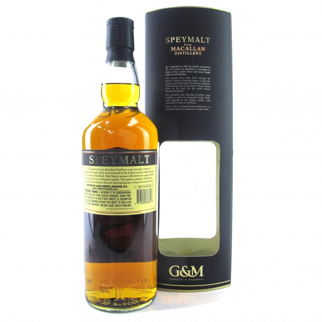 Macallan 1998 Speymalt Gordon and MacPhail 75cl / US Import