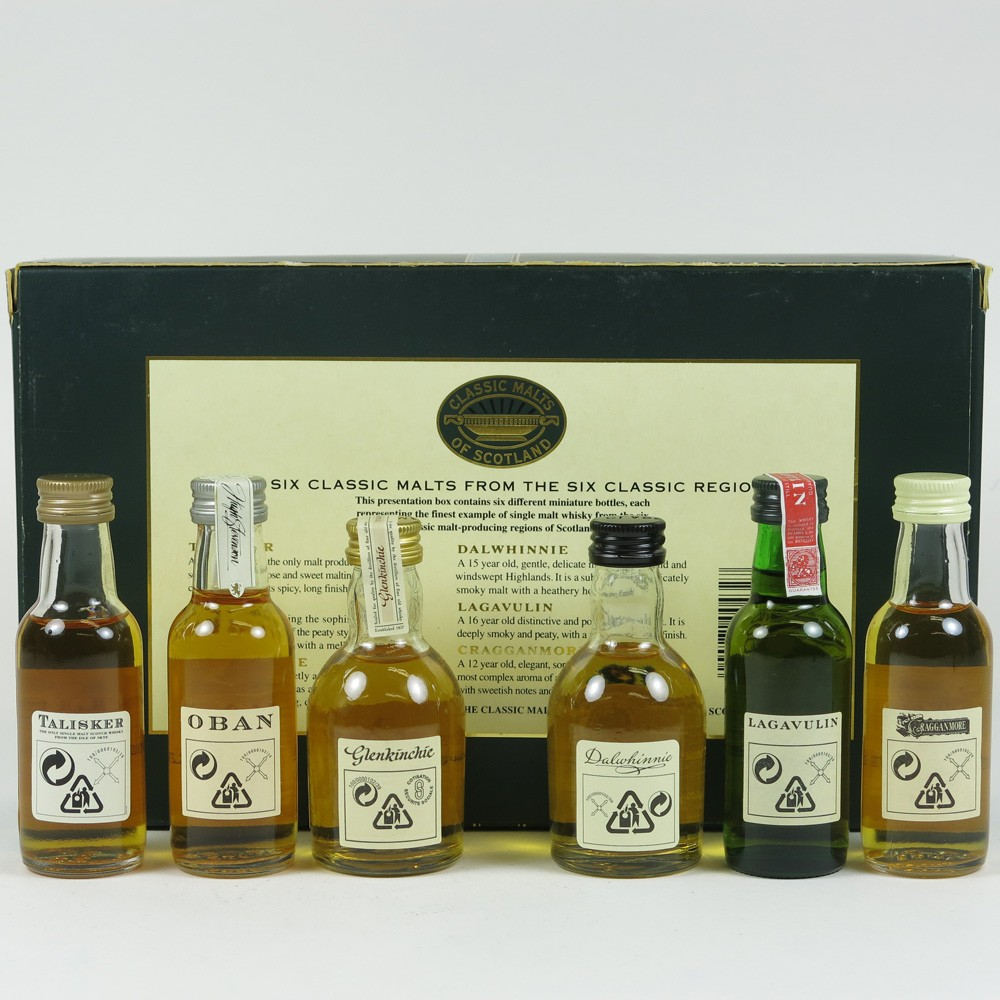 Classic Malts Gift Pack 6 x 5cl back