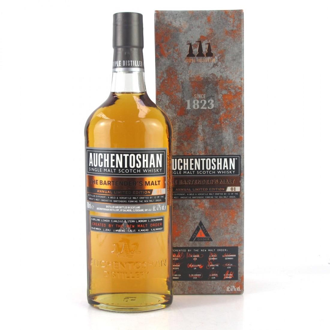 Auchentoshan The Bartender's Malt Limited Edition #01