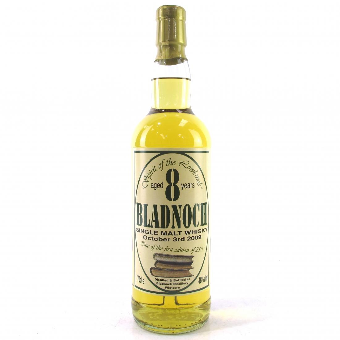 Bladnoch 8 Year Old / First Edition