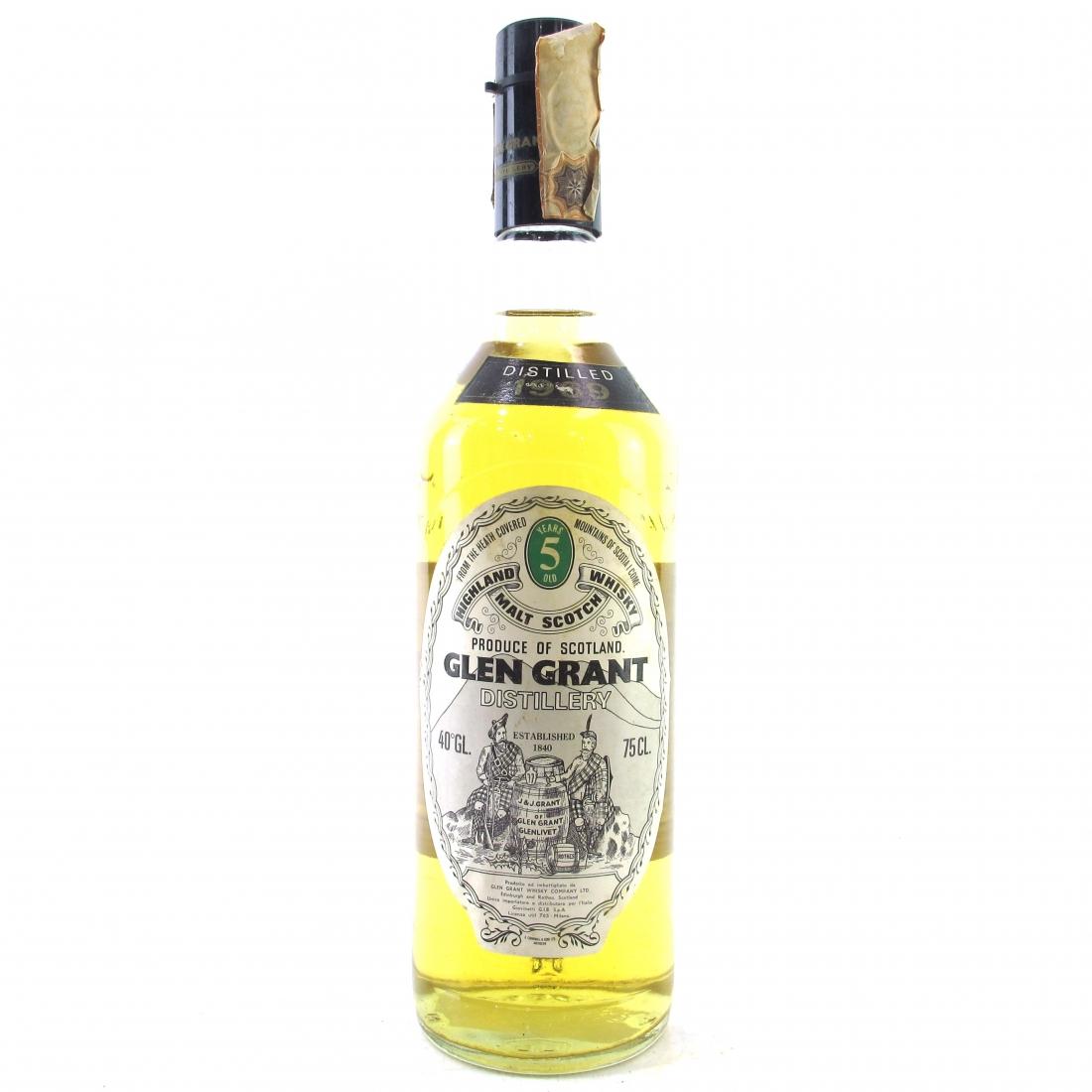 Glen Grant 1969 5 Year Old / Giovinetti Import