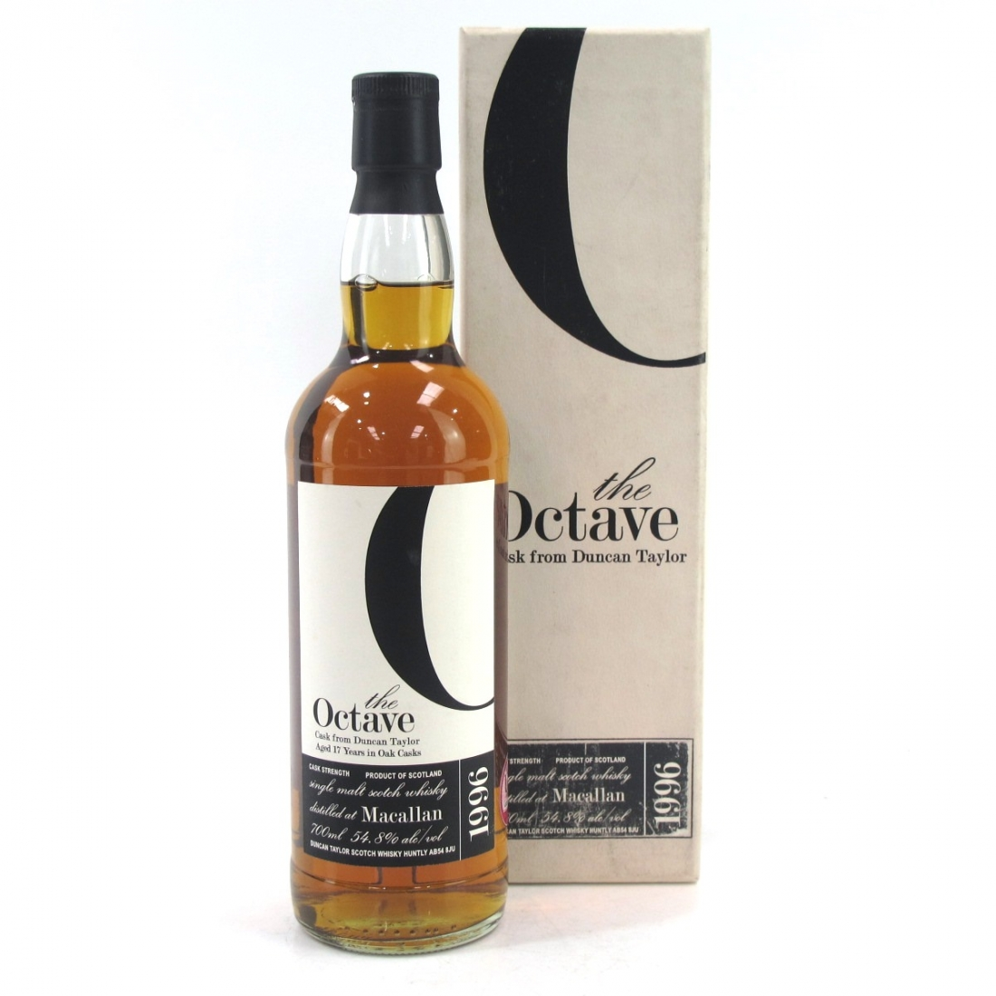 Macallan 1996 Duncan Taylor 17 Year Old Octave