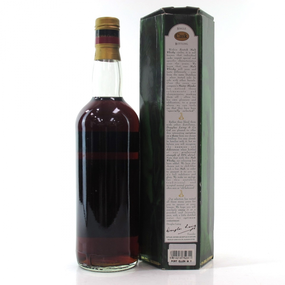 Port Ellen 1982 Douglas Laing 19 Year Old Cask Strength / German Exclusive