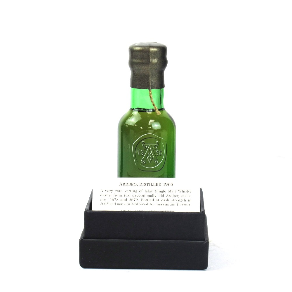 Ardbeg 1965 Including Miniature and Display Case