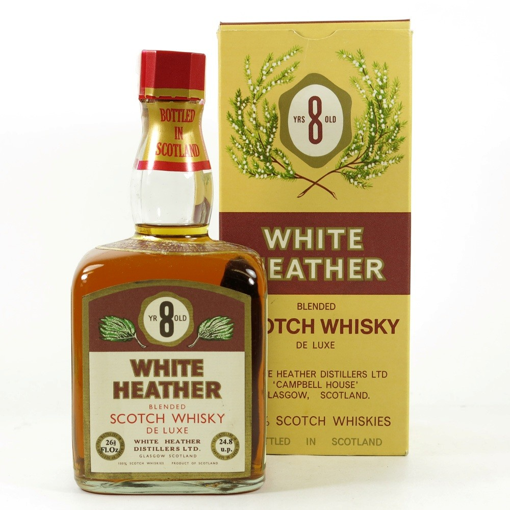 White Heather 8 Year Old 1970s