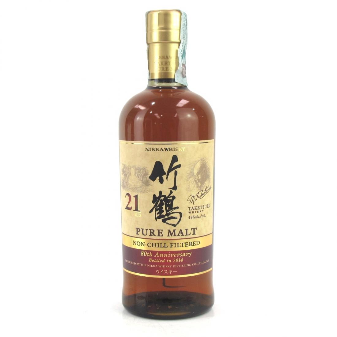 Taketsuru 21 Year Old Pure Malt / 80th Anniversary