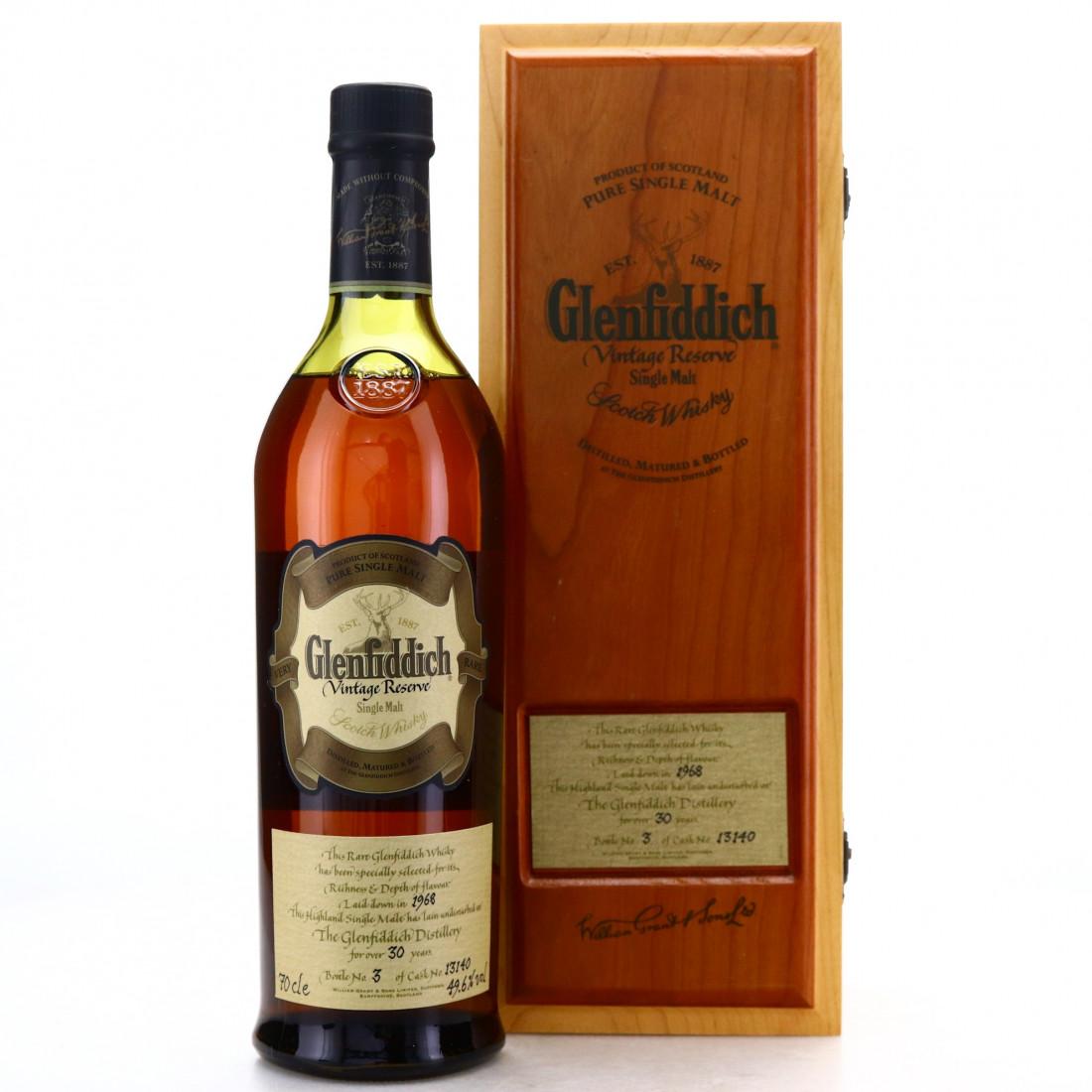 Glenfiddich 1968 Vintage Reserve 30 Year Old #13140