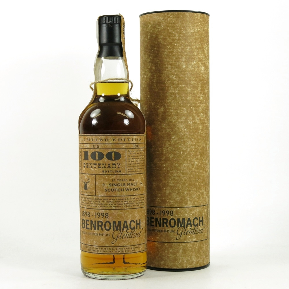 Benromach 17 Year Old Centenary
