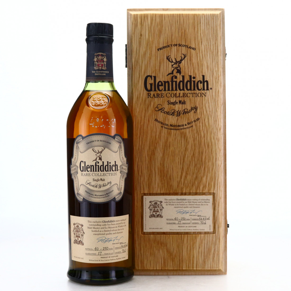 Glenfiddich 17 Year Old Rare Collection / LMDW