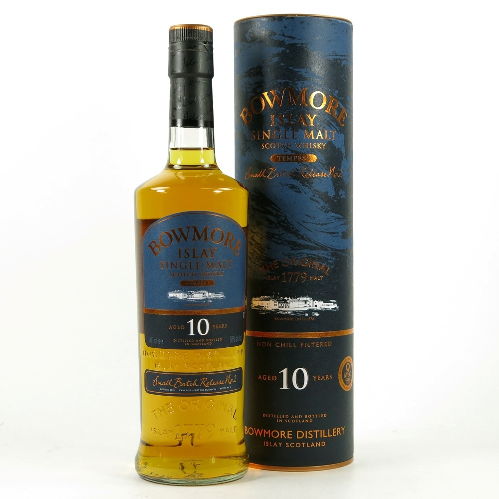 Bowmore Tempest 10 Year Old Batch 2