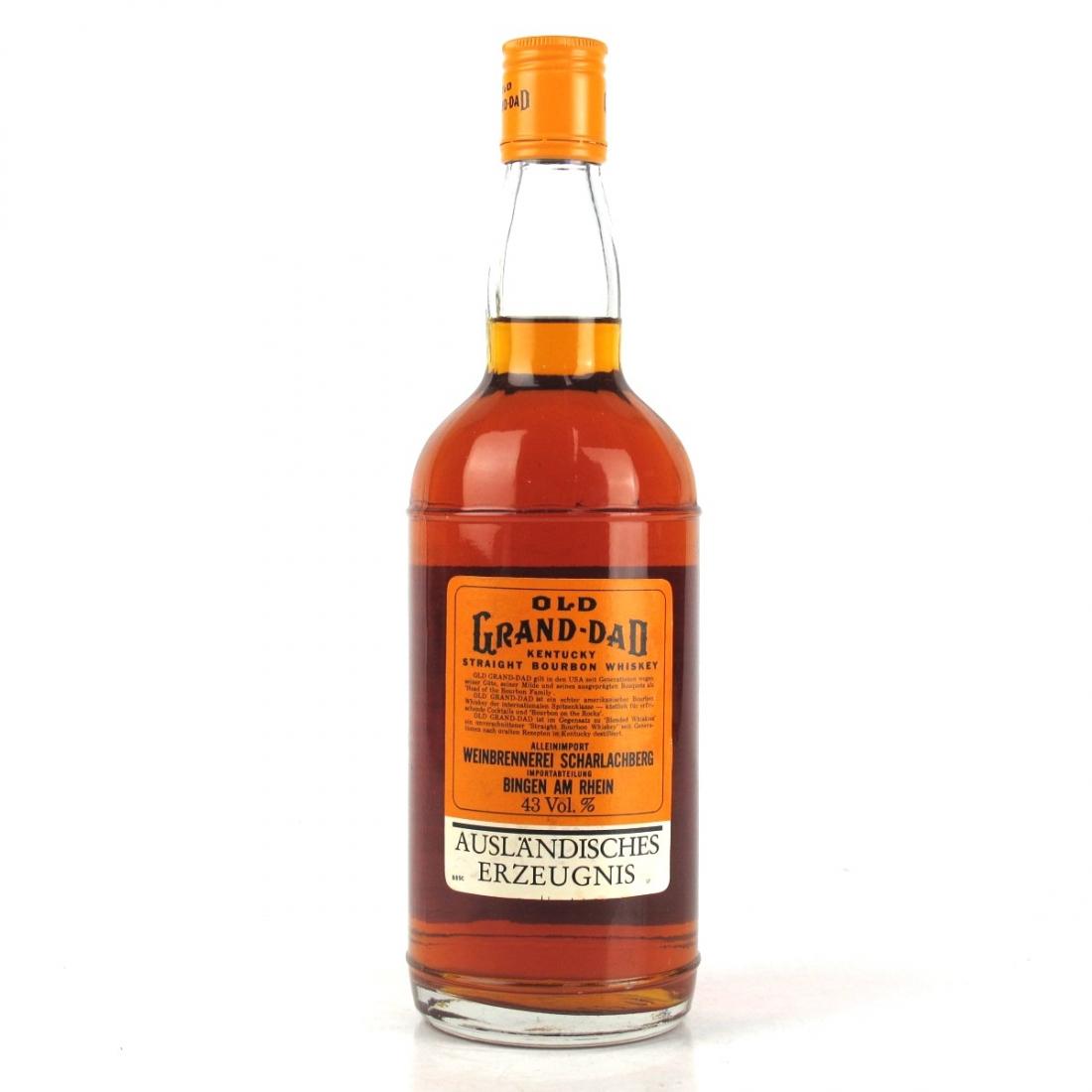 Old Grand-Dad Kentucky Straight Bourbon 1970s