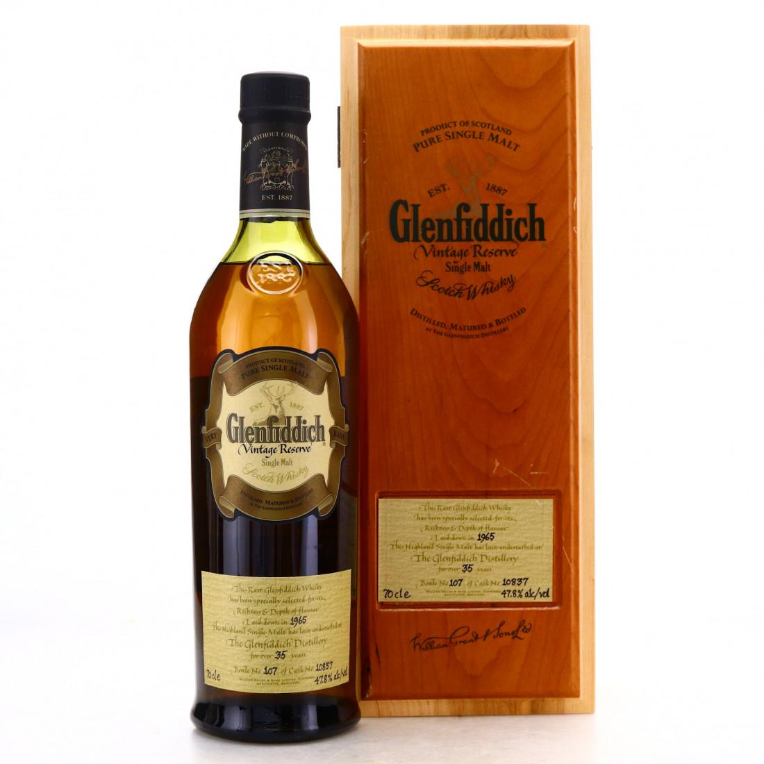 Glenfiddich 1965 Vintage Reserve 35 Year Old #10837