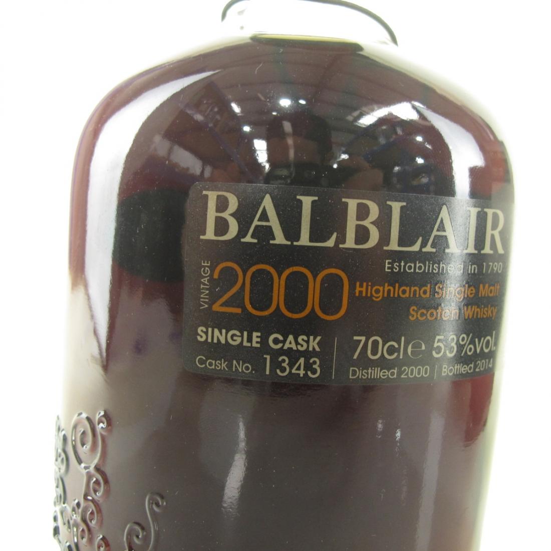 Balblair 2000 Single Cask #1343 / TWE Exclusive