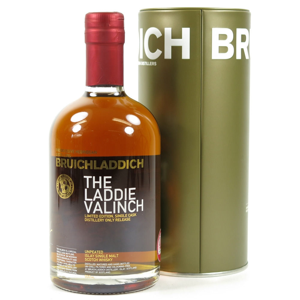 Bruichladdich 1992 Valinch 23 Year Old / Jim McEwan