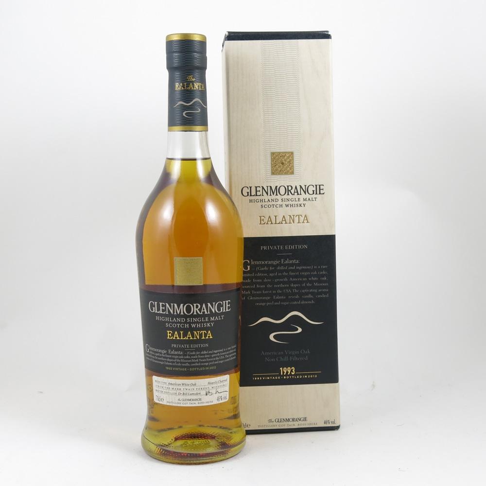 Glenmorangie Ealanta 1993 front
