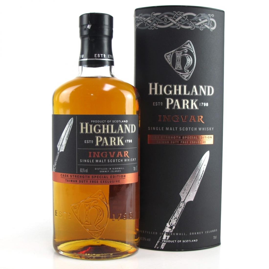 Highland Park Ingvar Cask Strength Special Edition