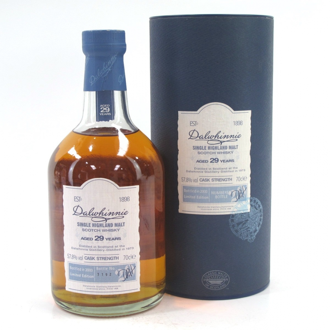 Dalwhinnie 1973 Cask Strength 29 Year Old