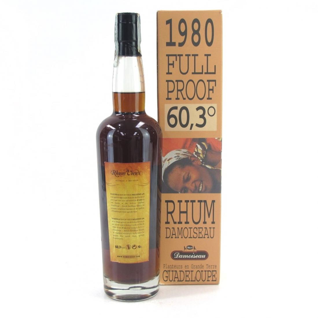 Guadeloupe 1980 Rhum Damoiseau Full Proof / Velier Import