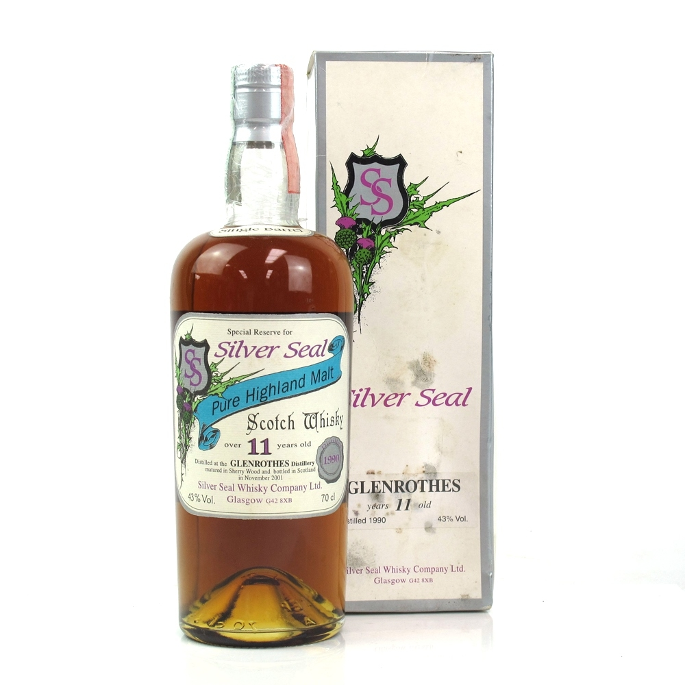 Glenrothes 1990 Silver Seal 11 Year Old