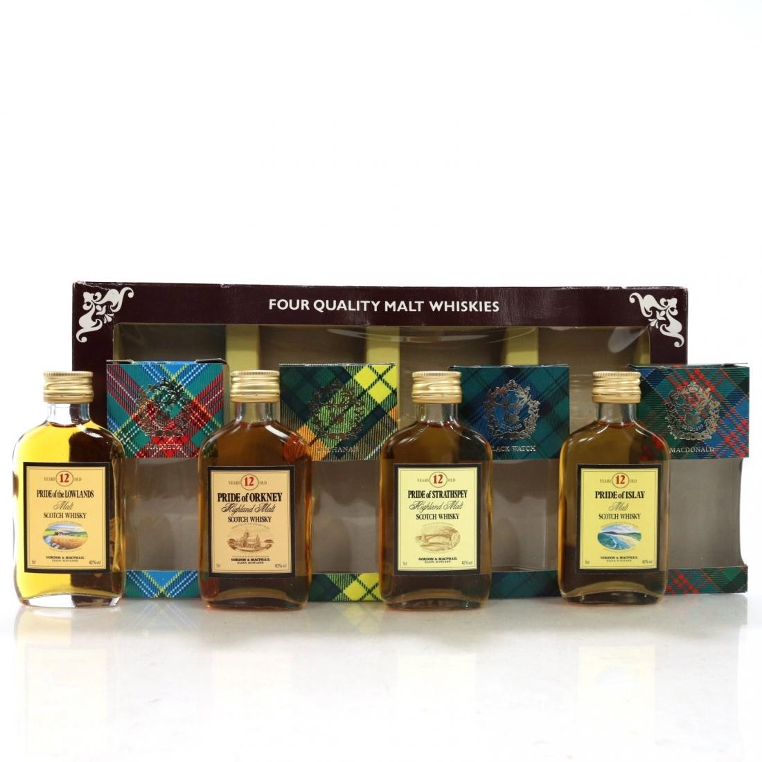 Pride of Regions Scotch Miniatures / Gordon and MacPhail