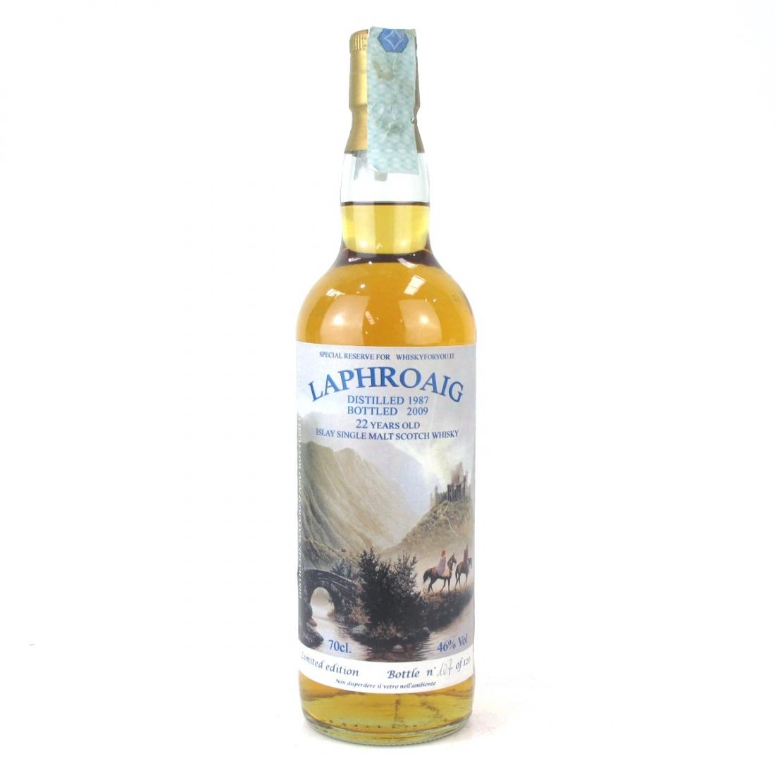 Laphroaig 1987 WhiskyForYou 22 Year Old