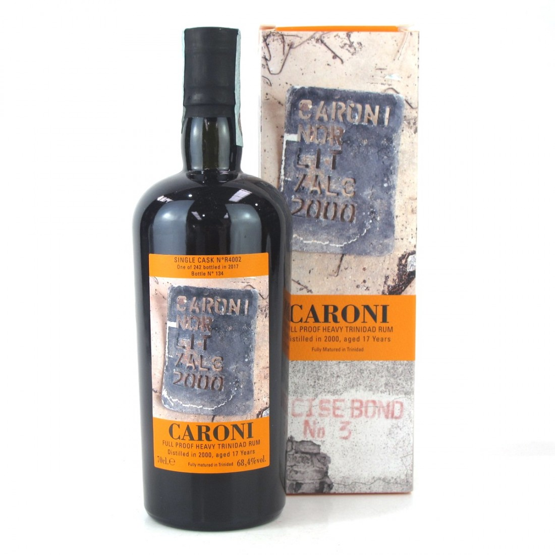 Caroni 2000 Full Proof 17 Year Old / Eataly Exclusive