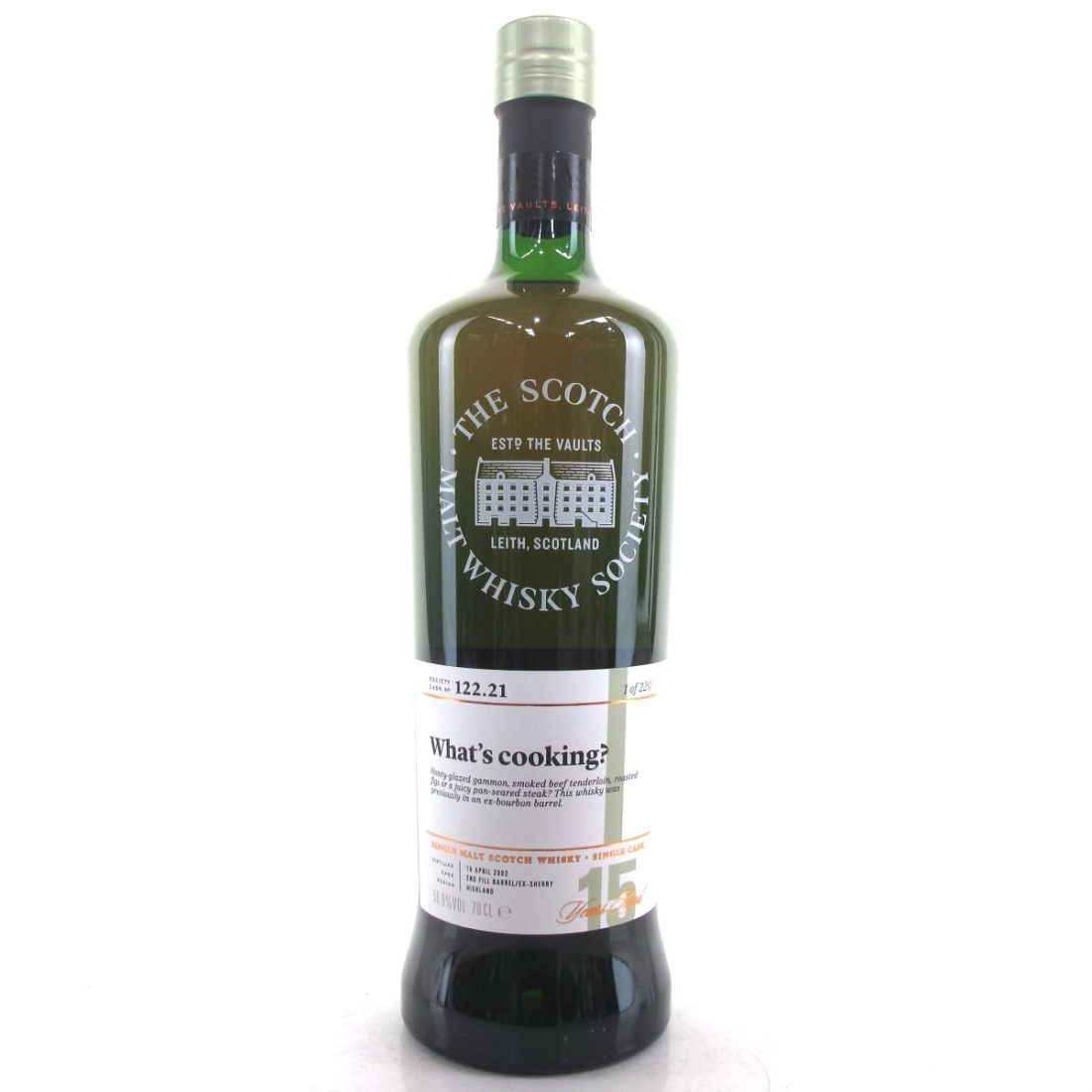 Loch Lomond / Croftengea 2002 SMWS 15 Year Old 122.21