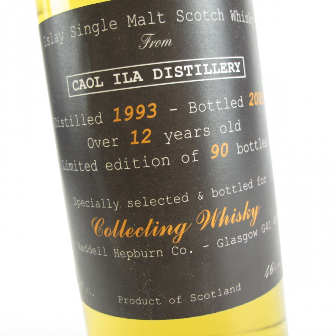 Caol Ila 1993 Waddell Hepburn Co 12 Year Old / Collecting Whisky