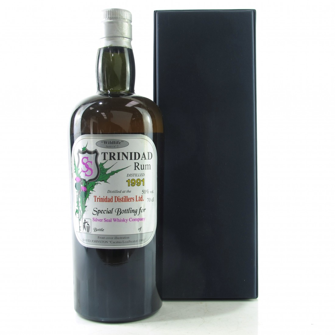 Angostura 1991 Silver Seal Trinidad Rum