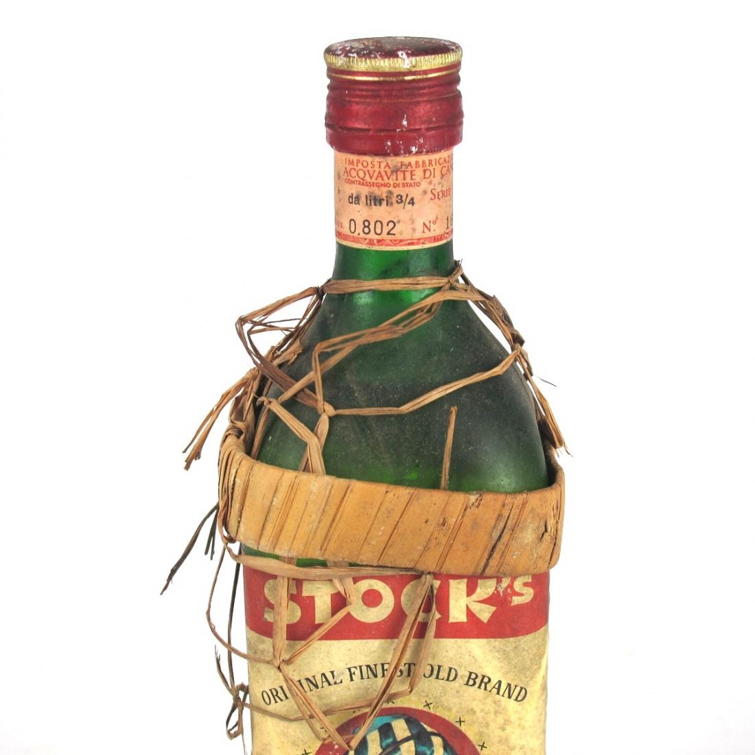Stock's Jamaica Rum 1960s/1970s