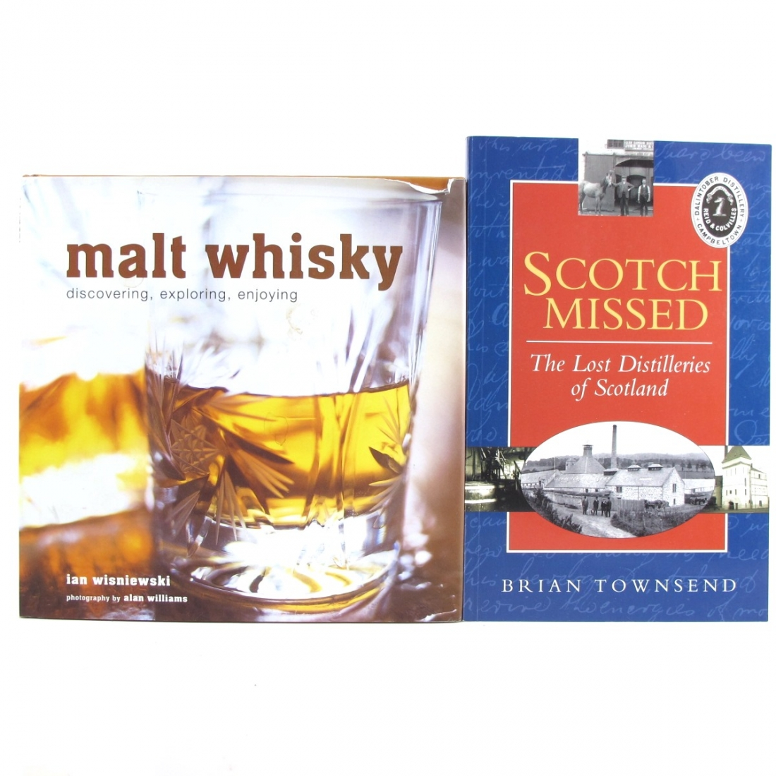 Miscellaneous Whisky Books x 2
