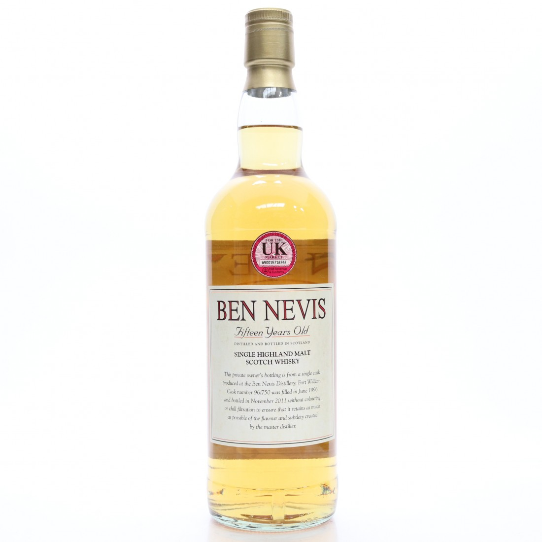 *JAN 2021 Ben Nevis 1996 Private Cask 15 Year Old / Doug Humphries
