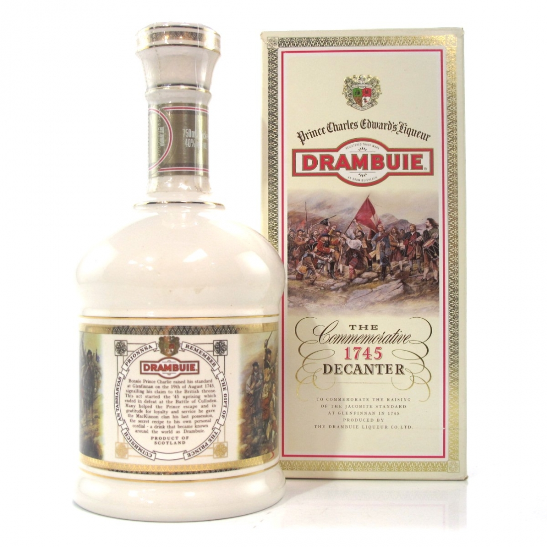 Drambuie 1745 Commemorative Decanter
