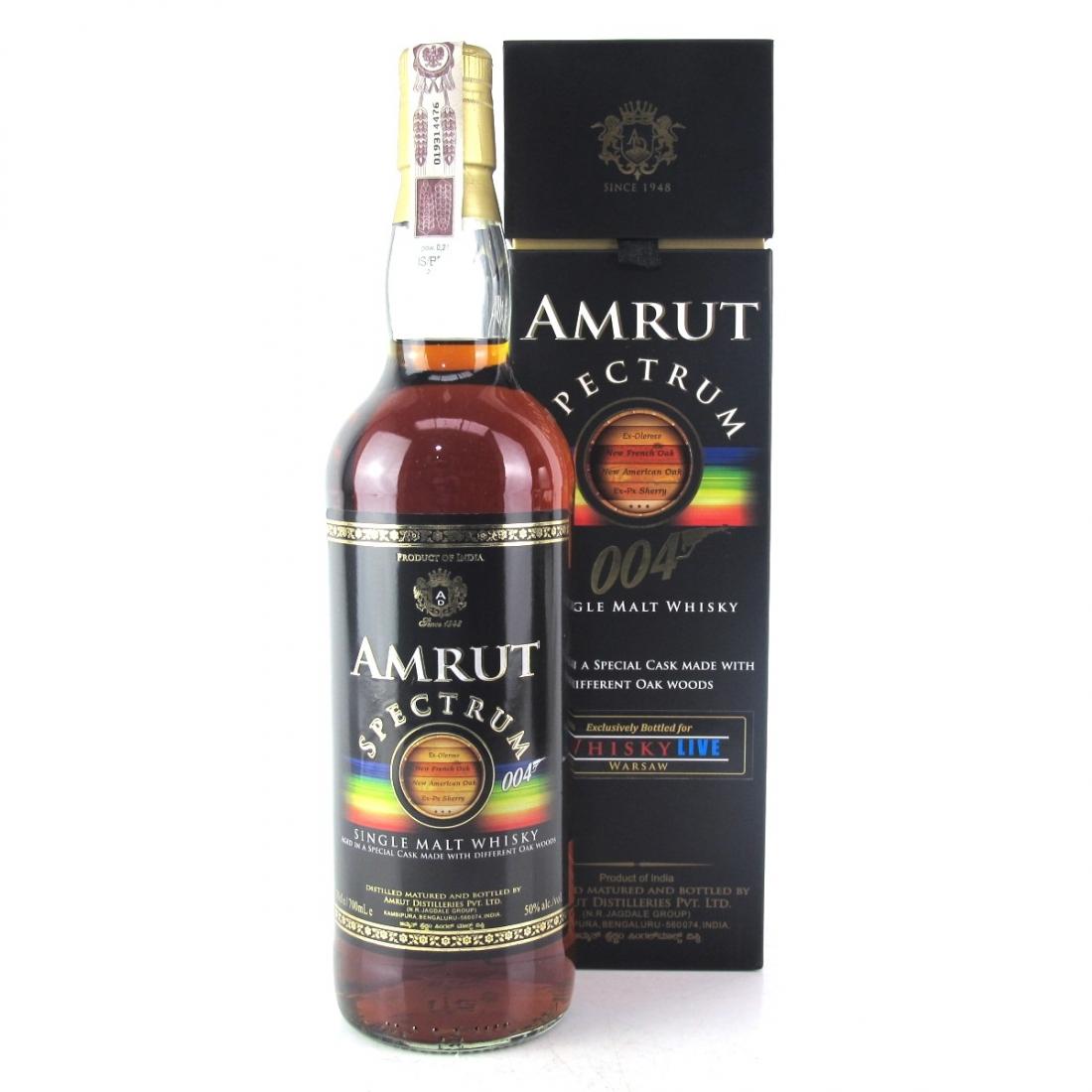 Amrut Spectrum 004 / Whisky Live Warsaw
