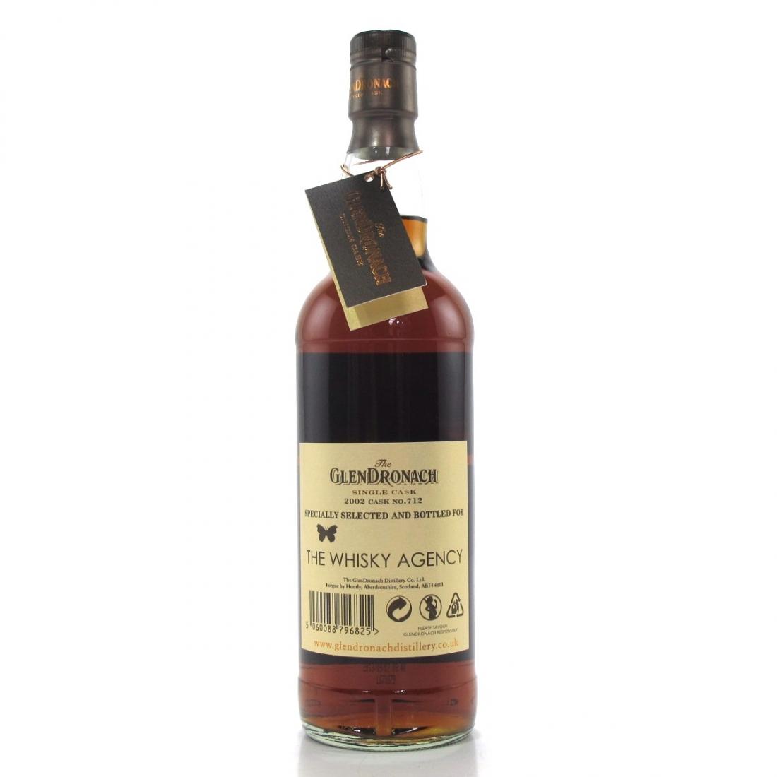 Glendronach 2002 Single Cask 11 Year Old #712 / The Whisky Agency