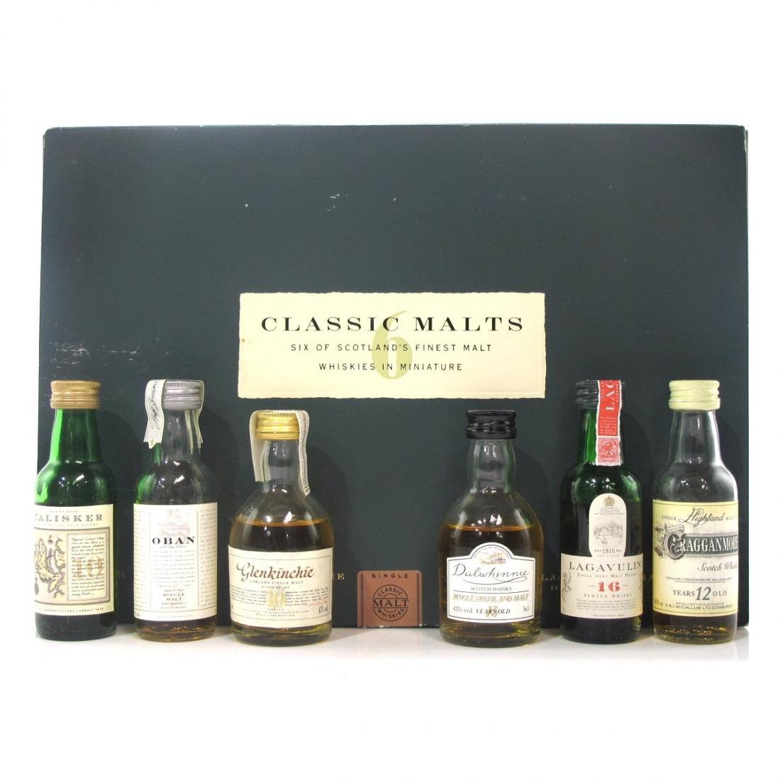 Classic Malts Miniature Gift Set 6 x 5cl