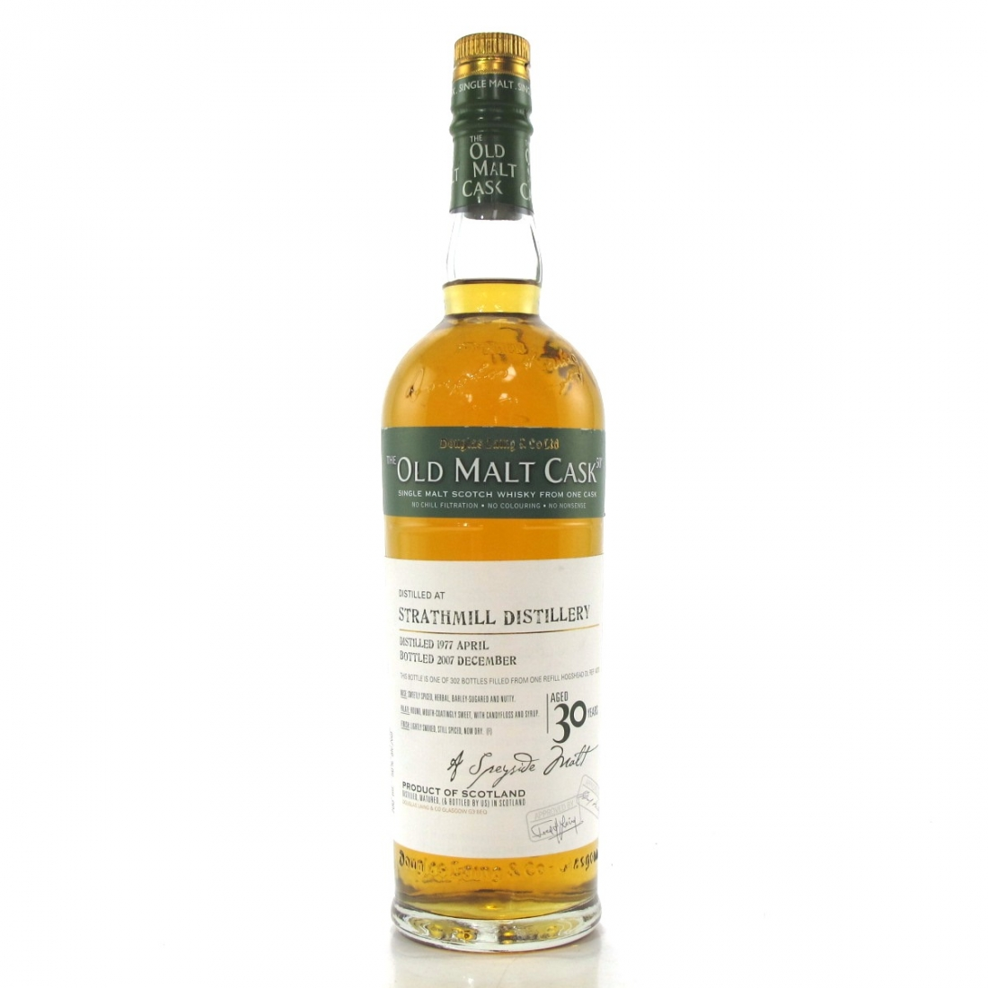 Strathmill 1977 Douglas Laing 30 Year Old