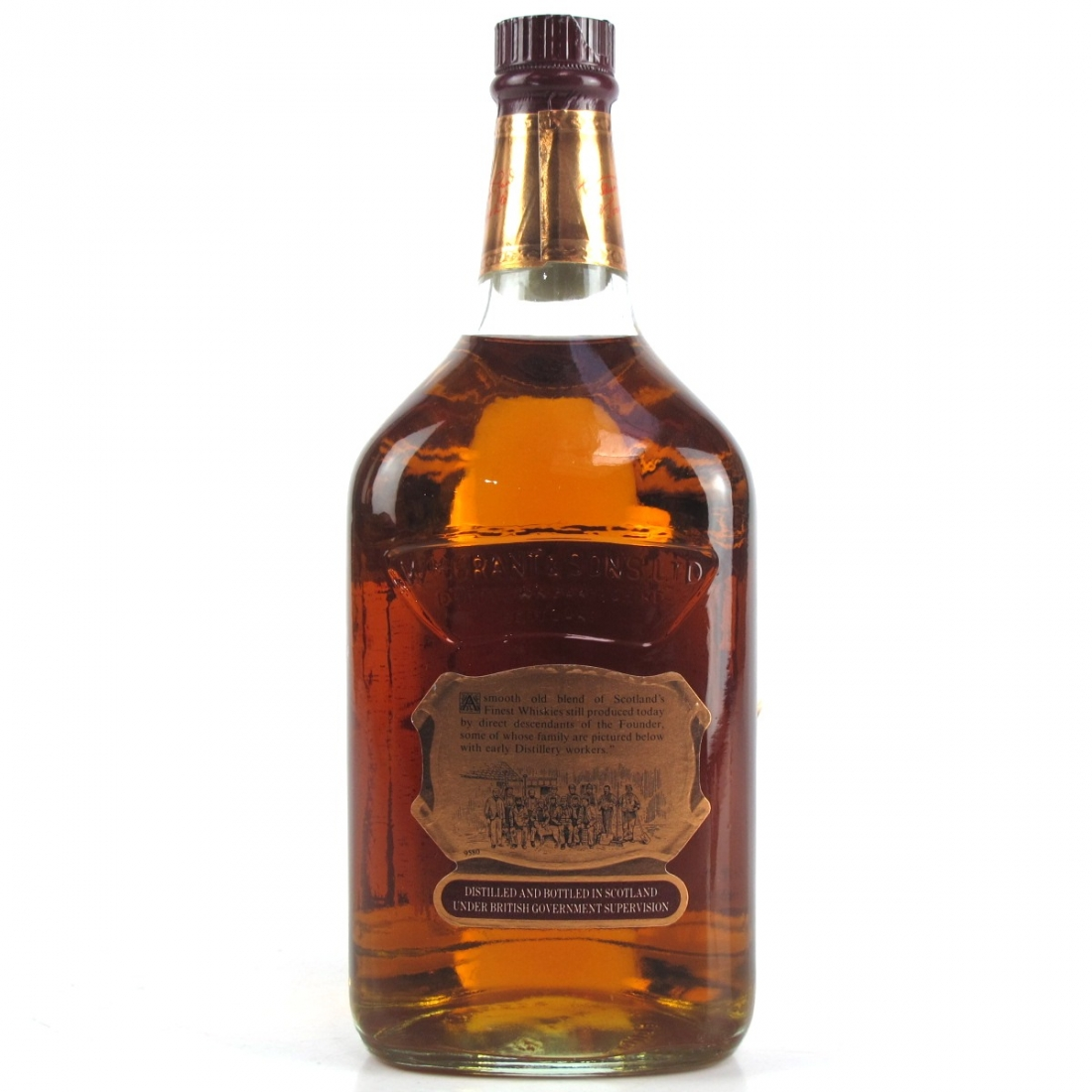 Grant's Royal 12 Year Old 1 Litre 1980s