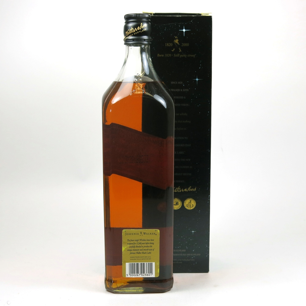 Johnnie Walker Black Label 12 Year Old Millennium Edition 1 Litre